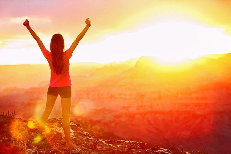 Giữ thái độ tích cực với cuộc sống